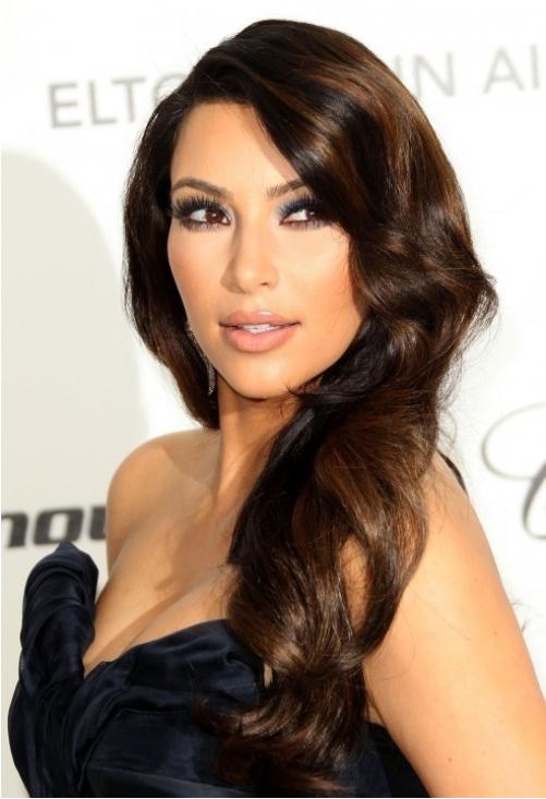 Kim Kardashian Updo Hair Juliemissjuicy